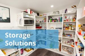 We custom design and build your storage solutions