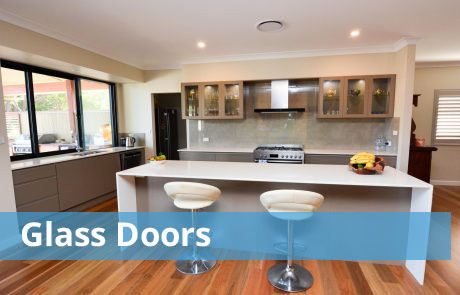 Glass Door Kitchens