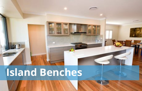 Island benches Kitchens