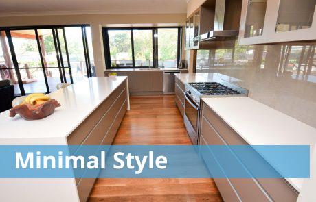 Minimal Style Kitchens