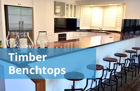 Timber Kitchen Benchtops Gallery